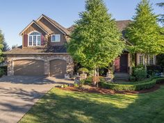 For a showing contact Stacy Hecht at 206-579-0344. Gorgeous Murray Franklyn 4,627 sq ft of luxury living in desirable Aldarra Estates with views of the Cascade Mtns . Tucked away on a cul de sac invites you into a beautifully built home w/ extra large formal living areas. Grand Foyer boast a sweeping iron staircase to a catwalk upstairs to 3 spacious bedrooms and an over sized bonus room with built in window seats.