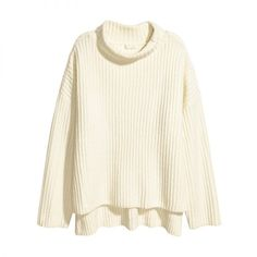 Wide-Cut Turtleneck Sweater, H&M $50