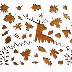 #autumn #paperart