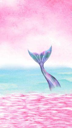 mermaid+pink+pastel.jpg 899×1,600 pixeles