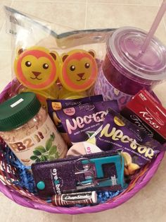Easter basket ideas for college students basket ideas easter healthy easter basket negle Choice Image