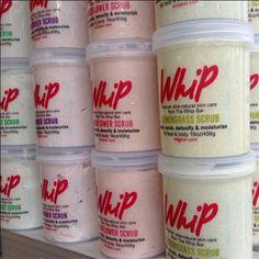 Whip Coconut & Lime Wash & Scrub #vegangifts #vegangiftsforher #veganbathbody #lavenderfields