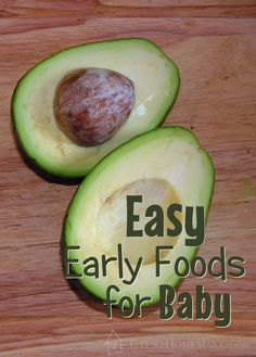 Easy Early Baby Foods (Real-Food-Friendly) - Titus 2 Homemaker #t2hmkr