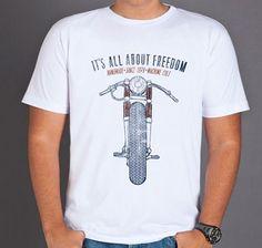 Camiseta Moto - Machine Cult | Roupas e acessórios de carro e moto