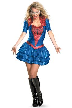 Get exciting with Spider-Girl Sexy Deluxe Adult Costume. Most recent selection of Marvel Costumes for Halloween at PartyBell. Spider Woman Costumes, Spider Costume, Marvel Costumes, Hulk Costume, Villain Costumes, Costumes For Teens, Adult Costumes, Girl Costumes, Couple Costumes