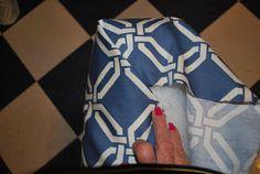 Cover box cushion, DIY, one hour, no sewing machine