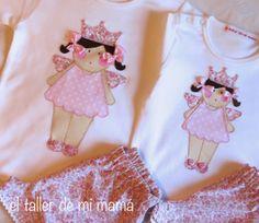 Conjuntos de niña de la colección verano 2014. Hada en rosa.