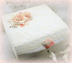 Made Upon Request This Box Can Be In Any Color Combination Is Perfect To Decorate Your Bedroom While Keeping All Those Wedding