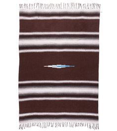 Native Diamond Design Mexican Yoga Blanket