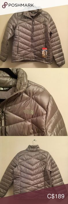 NWT The North Face Women's Jacket XL Brand new with tags, The North Face Women's Aconagua Jacket Color: Metallic Silver Size: XL  PRICE IS FIRM, NO TRADES The North Face Jackets & Coats