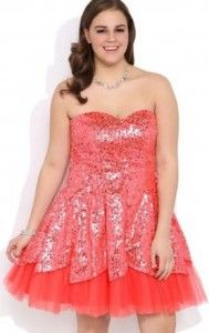 Junior Plus Size Homecoming Dresses - Trade Prom Dresses