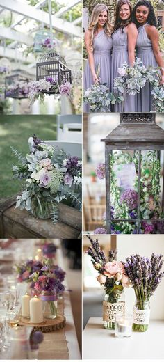 Wedding color combinations - Top 8 Wedding Colors in Spring 2019 lavender green, wedding ideas country rustic, wedding decorations diy on a budget, Spring Wedding, Our Wedding, Dream Wedding, Trendy Wedding, 2017 Wedding, Elegant Wedding, Wedding White, Wedding Table, Wedding Ceremony