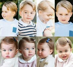 Le prince GEORGES et la princesse CHARLOTTE. .. Angleterre.