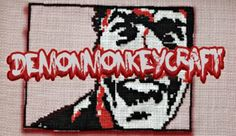 Reviews, Chews & How-Tos: Review/Giveaway: Demon Monkey Craft Cross-Stitch D...