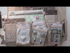 White washed resin pieces designed by Ingvild Bolme for Prima Marketing. Water pipes, ballet slippers, and spark plugs unite for a wonderful choice of Prima Marketing embellishments. Shop Ingvild Bolme design with the new Prima Junkyard Findings. This video shows the newest Prima wood embellishments, Junkyard findings, stencils... and Heidi Swapp's stencils.