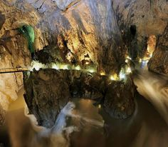 Škocjan Caves (Slovenia) - The majesticy of this underground canyon is what seperates the Škocjan Caves from others of its kind, placing it among the most famous underground features in the world. - Want to discover more hidden gems in Europe? All of them can be found on www.broscene.com