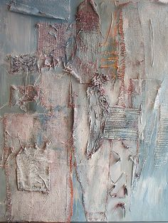 Sally MacCabe -Red Frost White Now Blue by , via Flickr