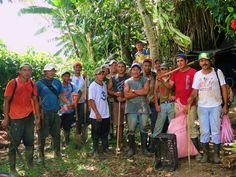 $17 pays wages of one Maleku worker for one day of maintenance work. - Rio Sol Bio Corridor, Maleku Reserve, Costa Rica