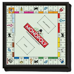 The London Monopoly Board