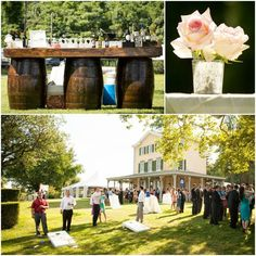 Michelle Troy Summer Wedding At The Belmont Mansion