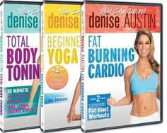 Denise Denise, Denise Austin, Dvd Set, You Can Do, Cardio, Burns, Movie Tv, Abs, Muscle