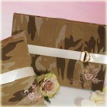 Gastenboek met camouflage print - yes!
