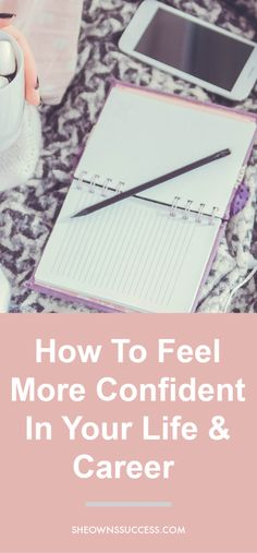 Confidence is a key to success and with these tips you'll soon find yourself feeling bolder both in work and out! Career Success, Career Coach, Career Change, Building Self Confidence, Confidence Tips, Career Quotes, Career Advice, Career Development, Personal Development