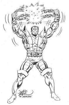 "johnbyrnedraws: "" Colossus by John Byrne & Jackson Guice. Comic Book Artists, Comic Artist, Comic Books Art, Marvel Comics, Marvel Comic Universe, Superhero Coloring, Marvel Coloring, Star Wars Poster, Star Wars Art"