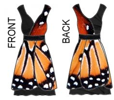 adaptation of that gorgeous Luly Yang butterfly dress.  I would learn to sew for this.  I hope she publishes the full pattern when she's done.