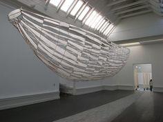 Installation fra TRANSIT udstilling i Den Frie Udstillings Bygning