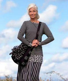 Dentro de cada mulher de 60 anos habita uma bela individualidade