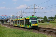 Najnowsze tramwaje w Poznaniu, Solaris Tramino - Heavy And Light, Light Rail, European Football, Higher Education, Climate Change, Scenery, Old Things, Cars, Places