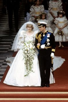 Lady Diana Wedding   Princess Diana's Wedding Sketches Auctioned Online (BridesMagazine.co ...