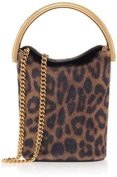 Leopard-print Shoulder Bucket Bag Cheetah Animal 48eb3beb6c1ec