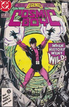 Cosmic Boy #1 / Created by Paul Levitz / Keith Giffen / Ernie Colon