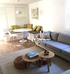 March Twice Interiors Neutral Bay apartment Living and Dining Nook.