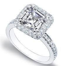 asscher cut engagement ring tacori - Google Search