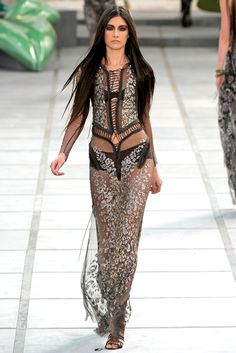 Roberto Cavalli Spring 2011 Ready-to-Wear Collection
