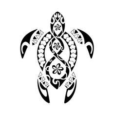 Bildergebnis für maori turtle tattoo