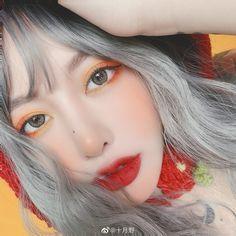 Aesthetic Eyes, Aesthetic Food, Asian Makeup, Korean Makeup, Makeup Inspo, Makeup Inspiration, Korean Girl, Asian Girl, Ulzzang Makeup
