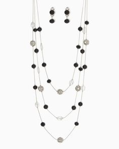 Ball of Fame Necklace Set | Fashion Jewelry | Charming Charlie