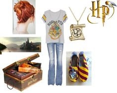 """""""HP fangirl"""" by clinedesign on Polyvore"""