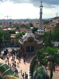 / Park Guell in Barcelona, Spain (click through to read more)