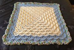 Fluffy Meringue Baby Blanket – Free pdf Pattern