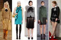 Favorite Trend for Pre-Fall 2014. Bow Ties of all Kinds!!!