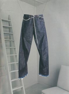 oki-ni x Levi's woodcutter jeans - the face, 2001.