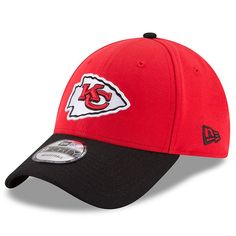 66c736f5db195 Kansas City Chiefs New Era Two-Tone 9FORTY Adjustable Snapback Hat -  Red Black