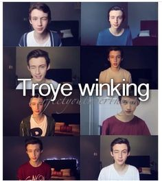 Love the ending of Troye's videos!