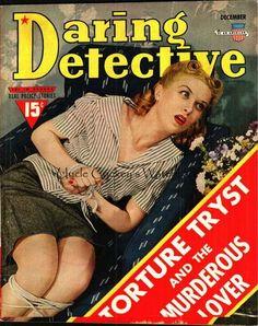 Daring Detective - December, 1940