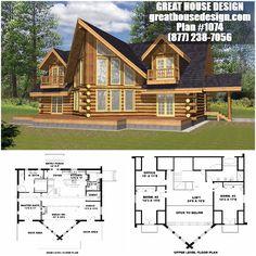 Log Home Plans, Custom Home Plans, Custom Home Designs, Barn Plans, House Plans, Log Cabin Homes, Cottage Homes, Tiny House Design, Modern House Design